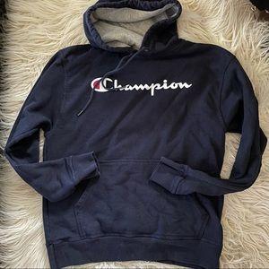 Champion Pullover Hoodie Sz M